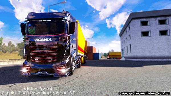 Скачать Scania R1000 Reworked бесплатно