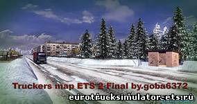 Скачать Truckers map Final v8 goba бесплатно