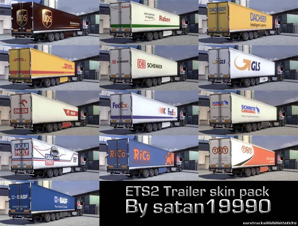 Euro Truck Simulator 2 мод Зимы
