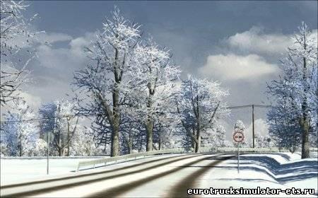 Мод Зимы Для Euro Truck Simulator 2 Скачать - фото 9