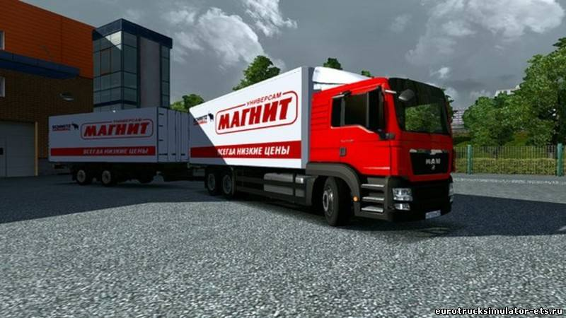 скачать мод на ман магнит для euro truck simulator 2