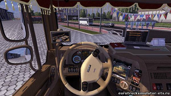 DONG FENG + салон для Euro Truck Simulator 2