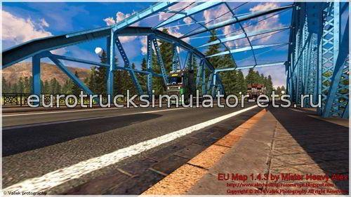 Скачать Карту Европы Для Euro Truck Simulator 2 - фото 11