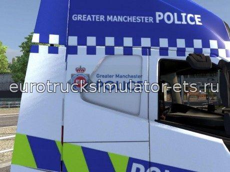 Скачать Полицейский Volvo fh2012 бесплатно