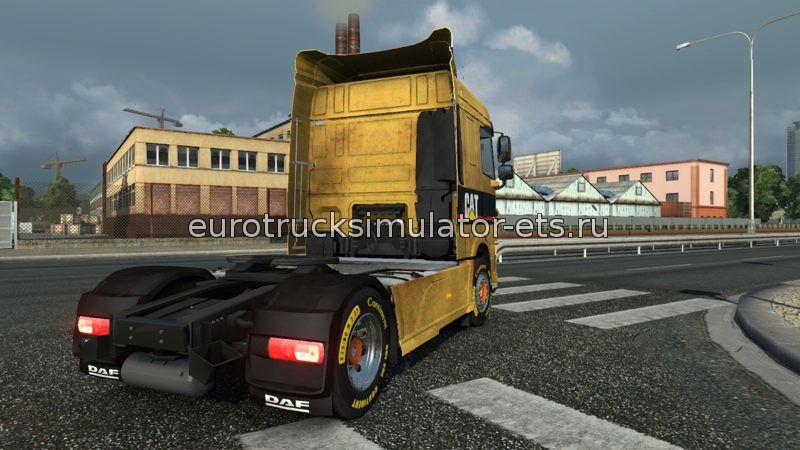 Скачать Грязный скин DAF Euro 6 бесплатно