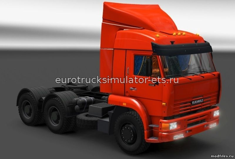 скачать мод на kamaz 5490 для euro truck simulator 2