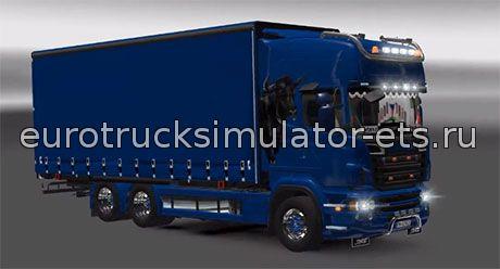 Скачать Scania R666 BDF Tandem бесплатно