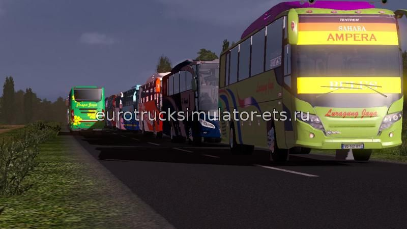 Скачать Indonesia Traffic Pack v1.2 бесплатно