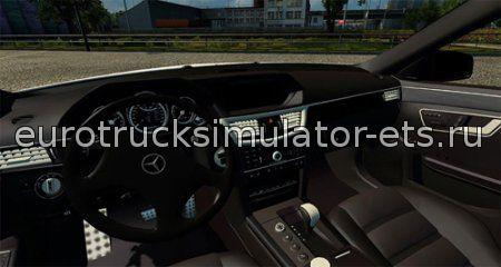 Скачать Mercedes E63 AMG  + физика + салон бесплатно