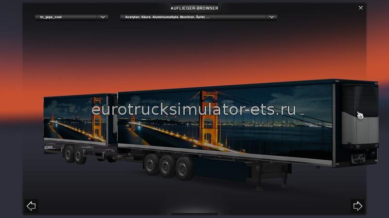 скачать мод на евро трек симулятор 2 на прицепы - фото 10