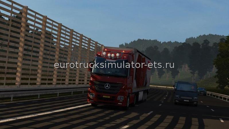 скачать мод на графику в Euro Truck Simulator 2 бесплатно - фото 8