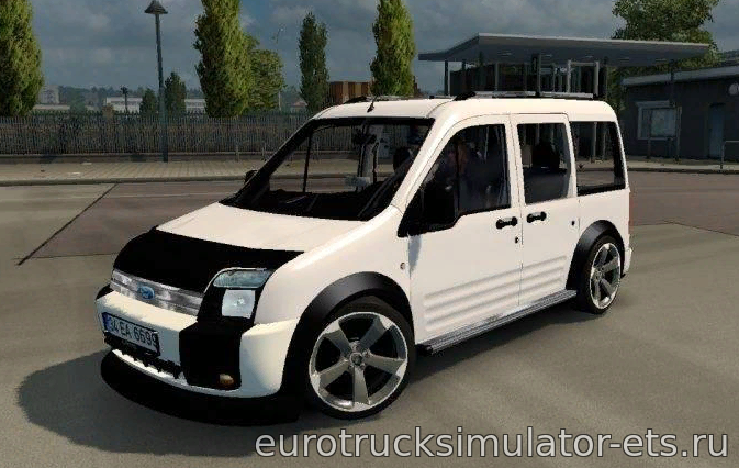 МОД FORD TOURNEO CONNECT для Euro Truck Simulator 2