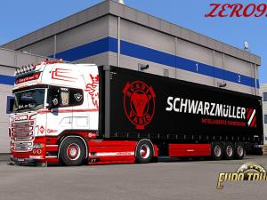 Скачать МОД RED & WHITE CUSTOM SKIN COMBO PACK + ACCESSORY ДЛЯ SCANIA RS (RJL) ВЕРСИЯ 1.0 бесплатно
